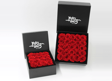 25 Red Infinity Preserved Roses