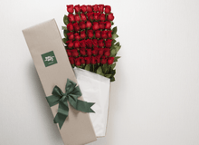 50 Red Roses  Gift Box