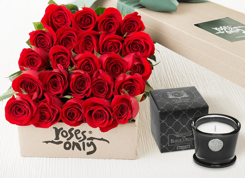 Roses Only signature deluxe gifts