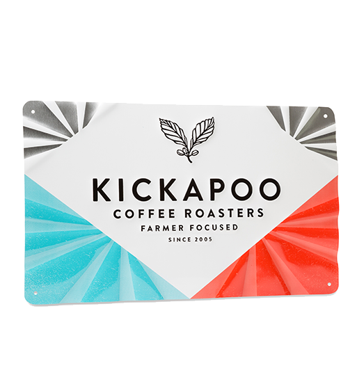 Kickapoo Tin Sign