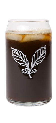 Kickapoo Coffee Glass