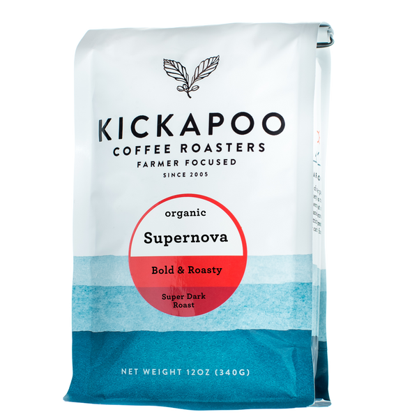 Organic Supernova Super Dark Roast