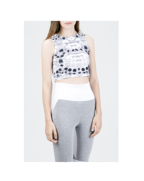 JG White/Grey  Leggings