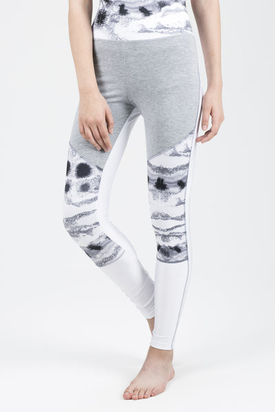 JG Leggings With Print Panel Insert