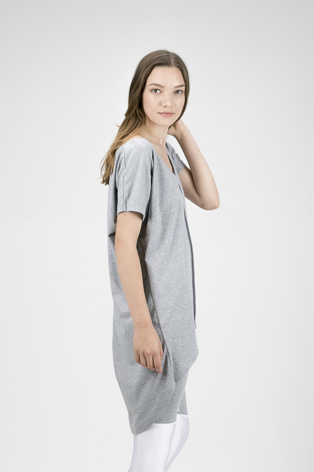 Short Sleeve Sweat Dress