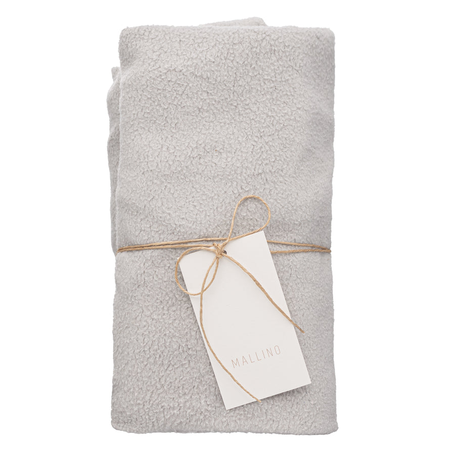Teddy Changing Pad Cover | Pale Grey