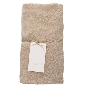 Teddy Changing Pad Cover | Almond