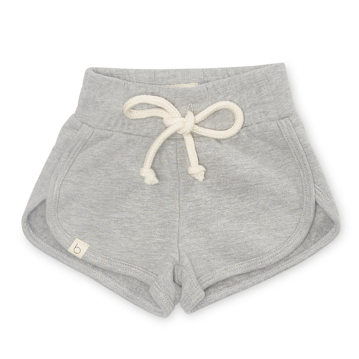 Terry Fleece Shorts | Heather Grey
