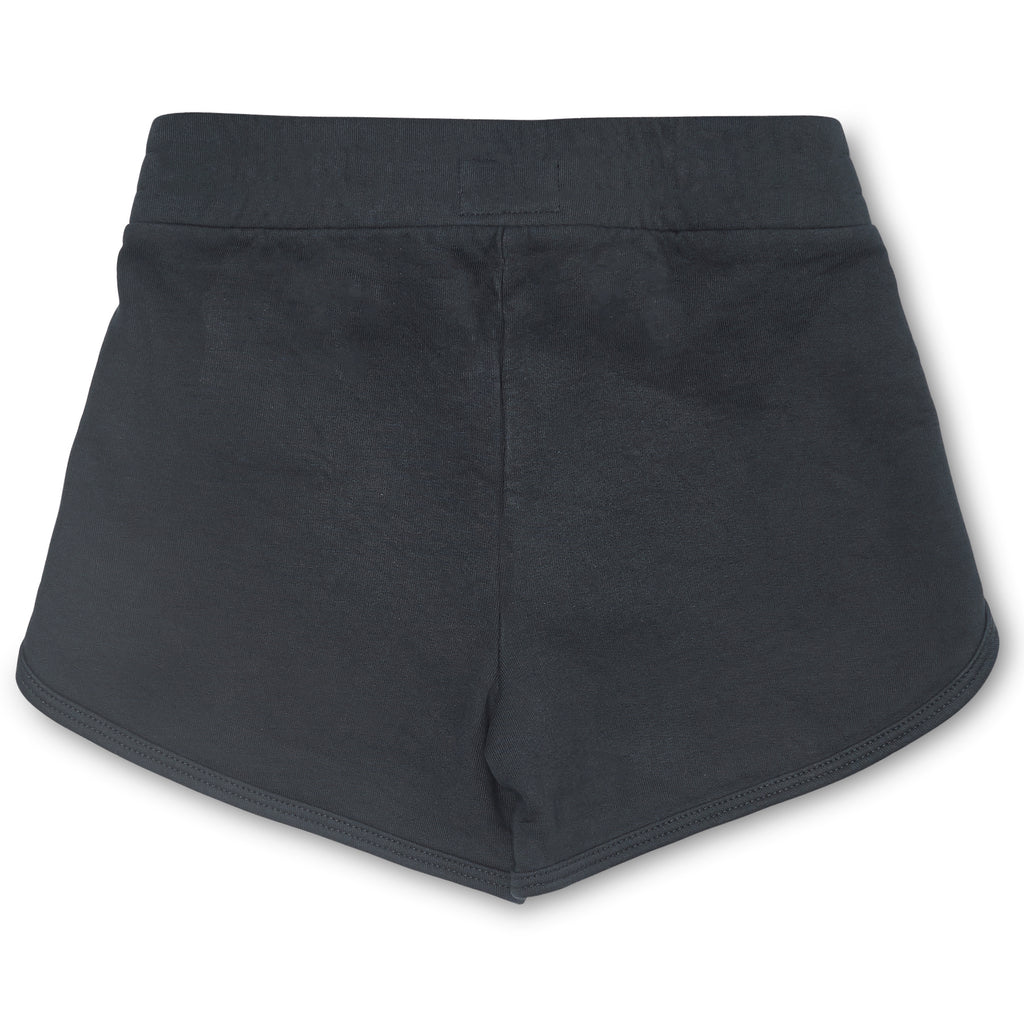 Terry Fleece Shorts | Washed Black
