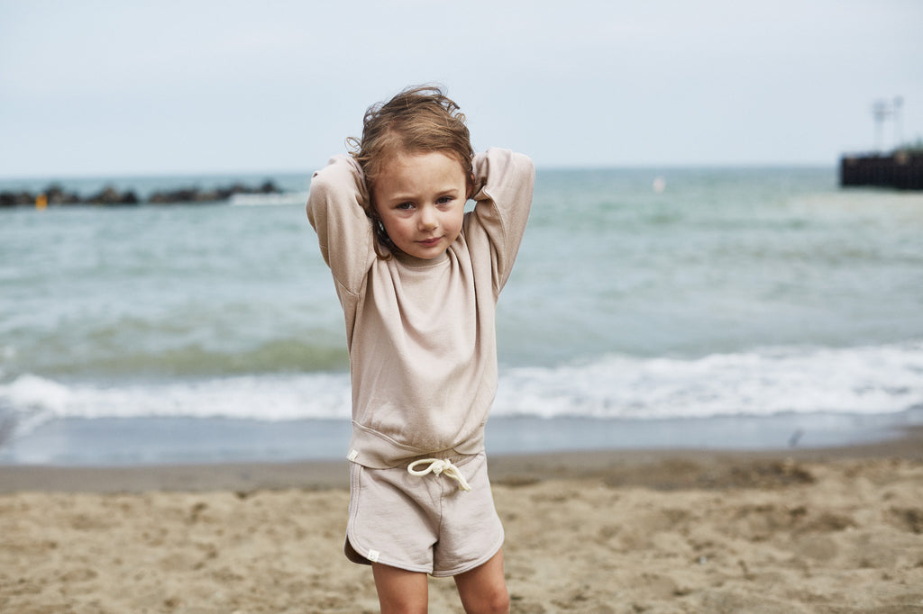Terry Fleece Shorts | Fawn