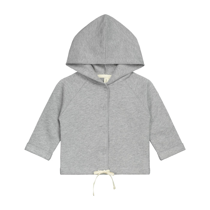 Baby Hooded Sweatshirt | Grey Melange