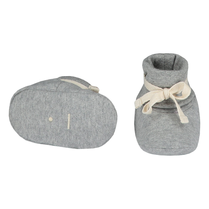 Baby Booties | Grey Melange