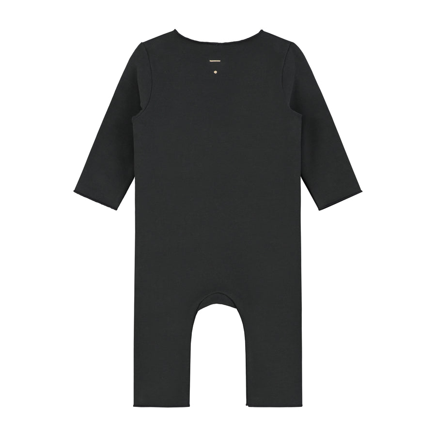 Baby Suit with Snaps | Nearly Black