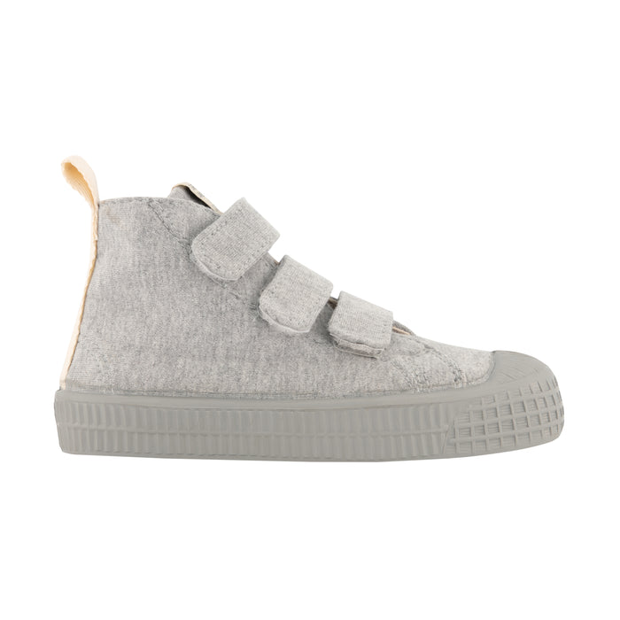 Velco High Tops | Grey Melange