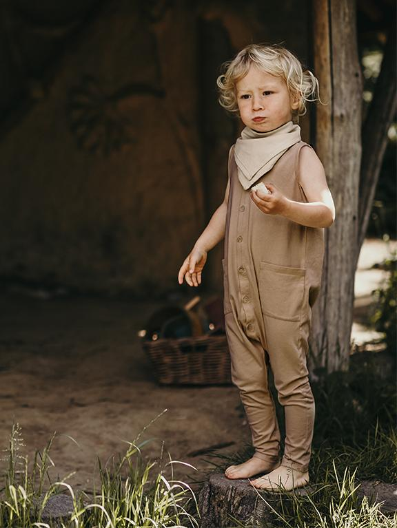 The Free Range Playsuit | Camel