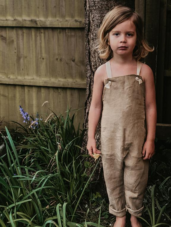 The Linen Overall | Oatmeal