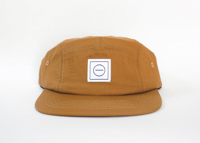 Nylon Five-Panel Hat | Clay