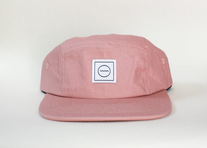 Cotton Five-Panel Hat | Blush