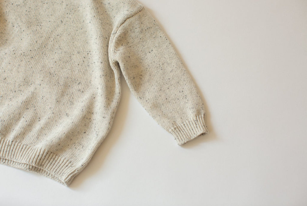 Sprinkle Knit Sweater | Grey