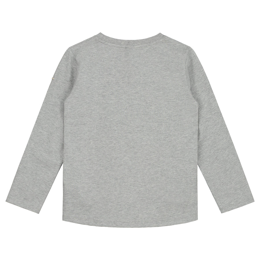 Long Sleeve Tee | Grey Melange