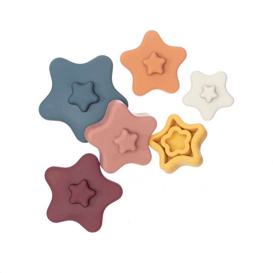 Silicone Star Stacker