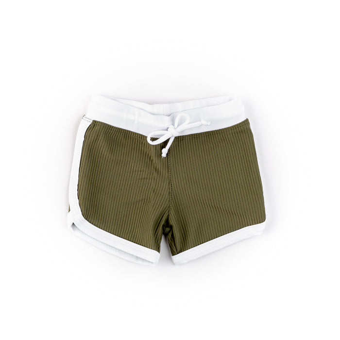 Cubs Swim Shorts | Olive