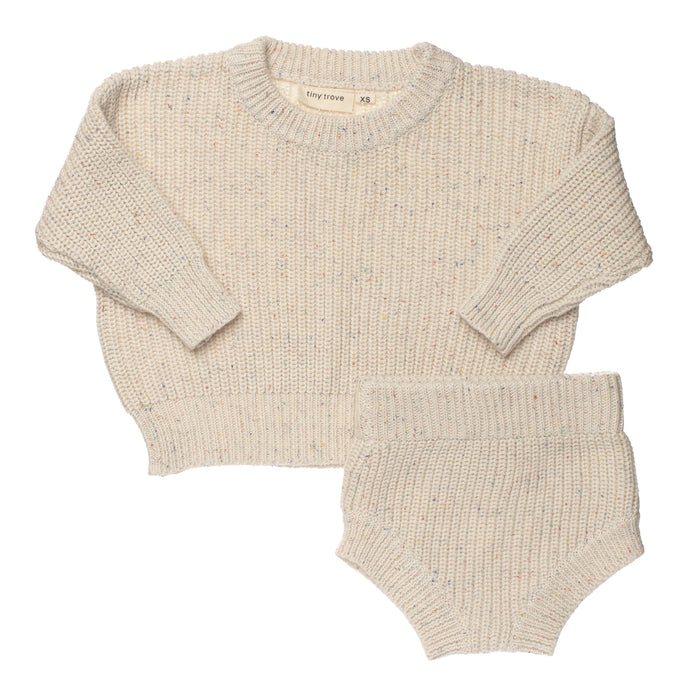 Sprinkle Knit Set | Butter
