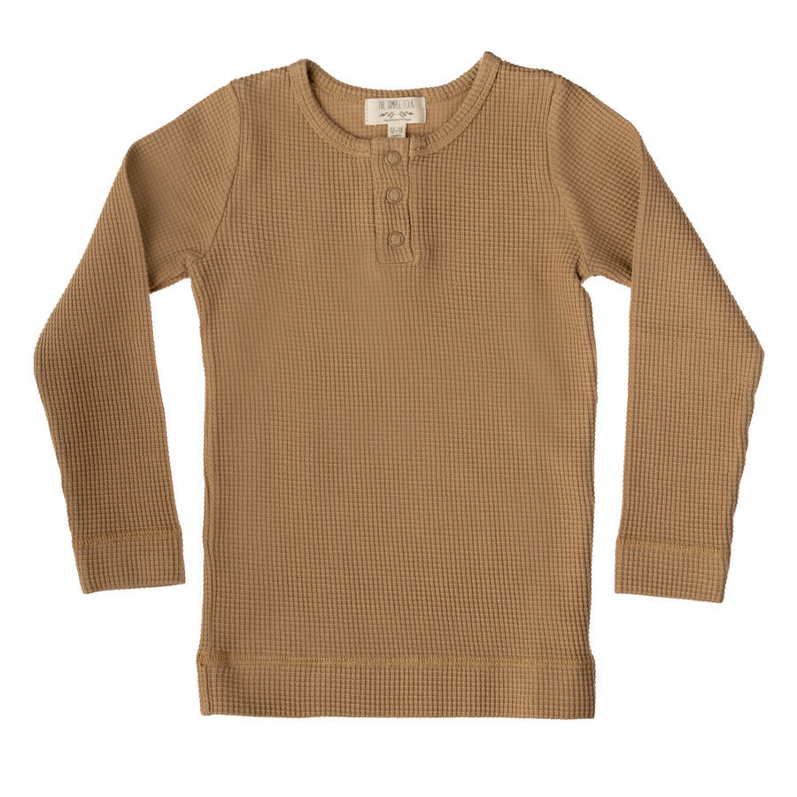 The Waffle Top | Camel