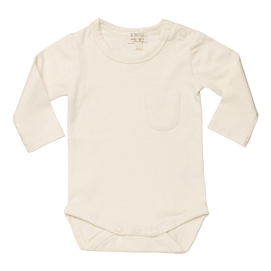 The Long Sleeve Onesie | Undyed