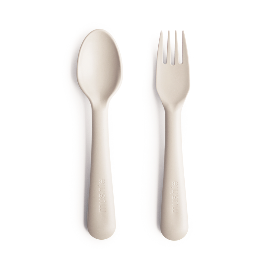 Fork & Spoon Set | Ivory