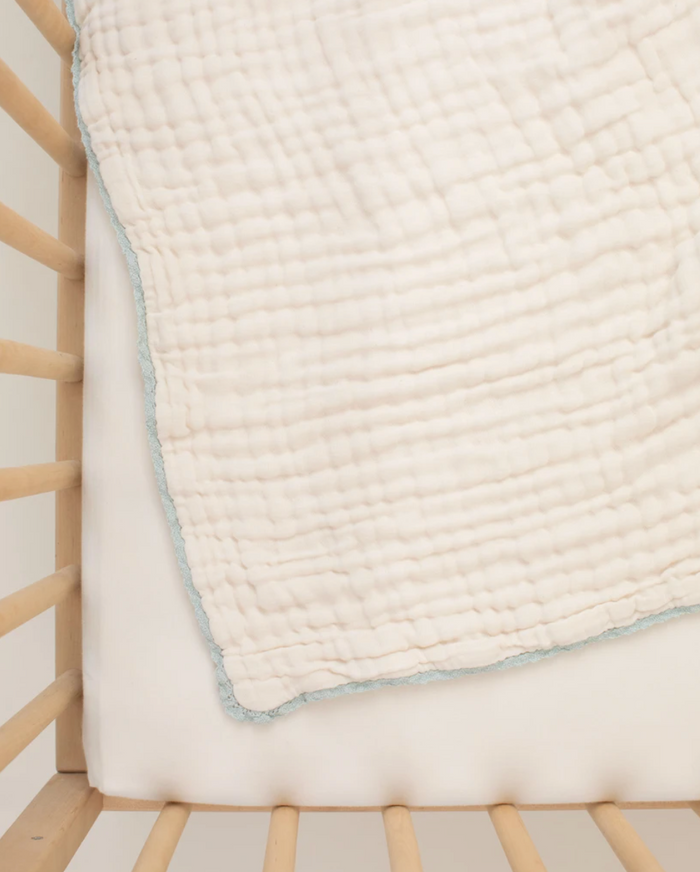 Lace Baby Blanket | Sea