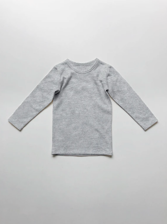 The Everyday Top | Grey Melange