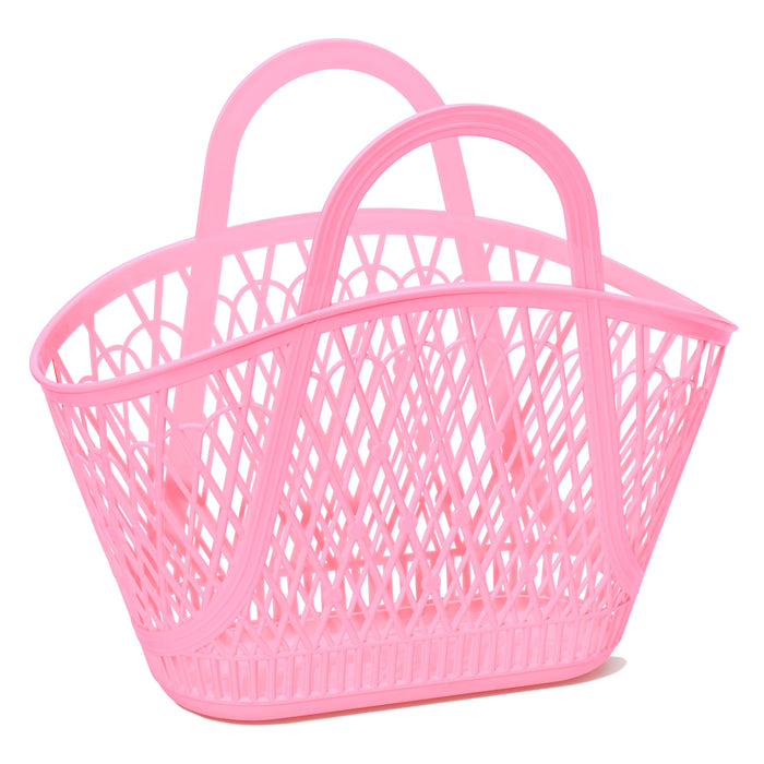 Betty Basket | Bubblegum Pink