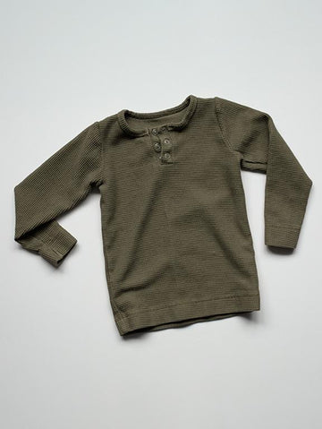 The Waffle Top | Olive