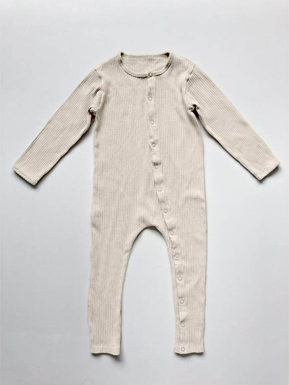 The Ribbed Pyjama | Undyed