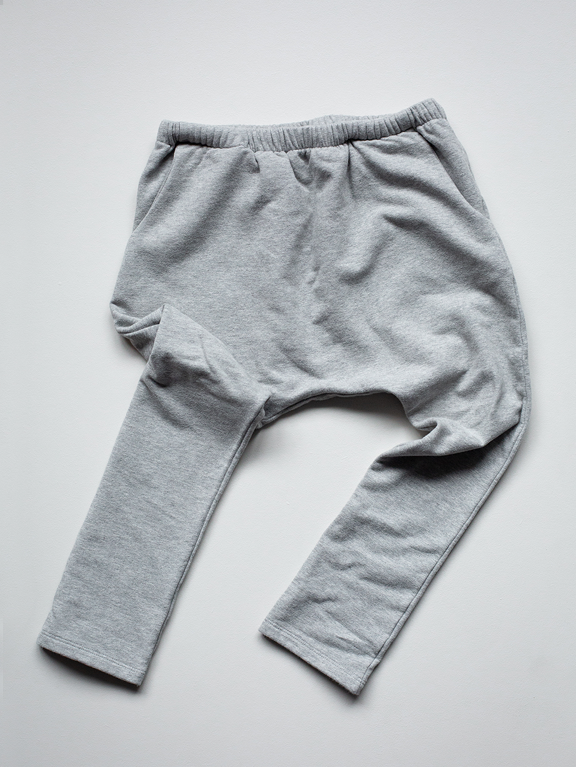 The Fleece Trouser | Grey Melange