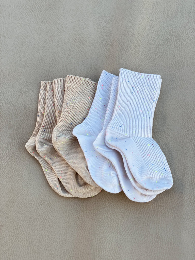 Sprinkle Socks | Ivory