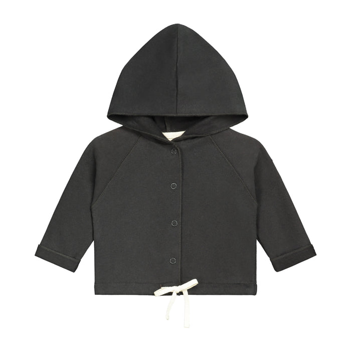 Baby Hooded Sweatshirt | Nearly Black
