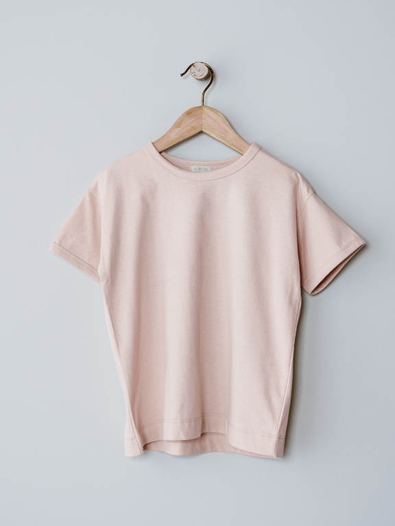 The Boxy Tee | Blush