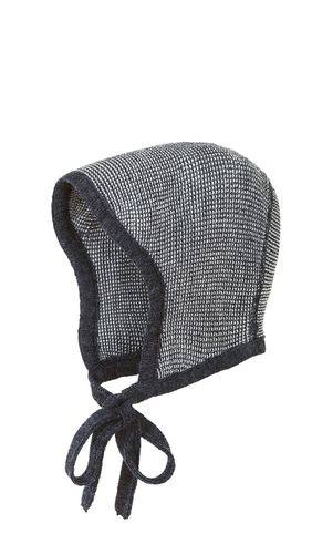 Knitted Bonnet | Anthracite Grey