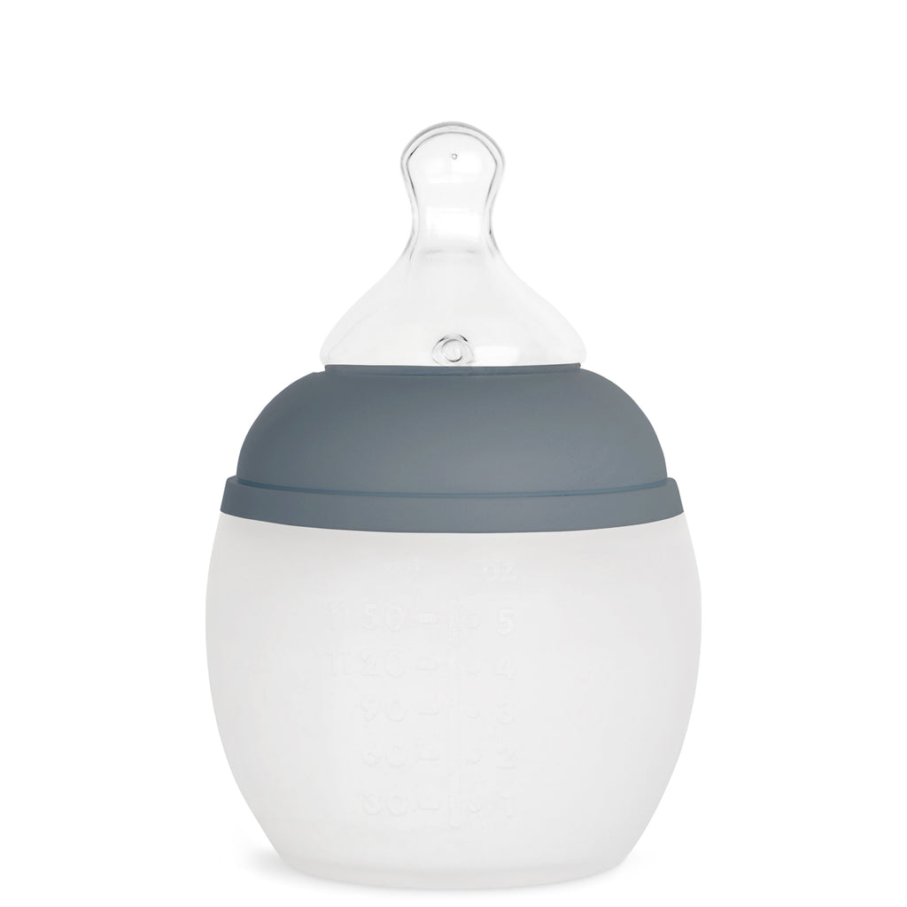 Baby Bottle | Blue Grey