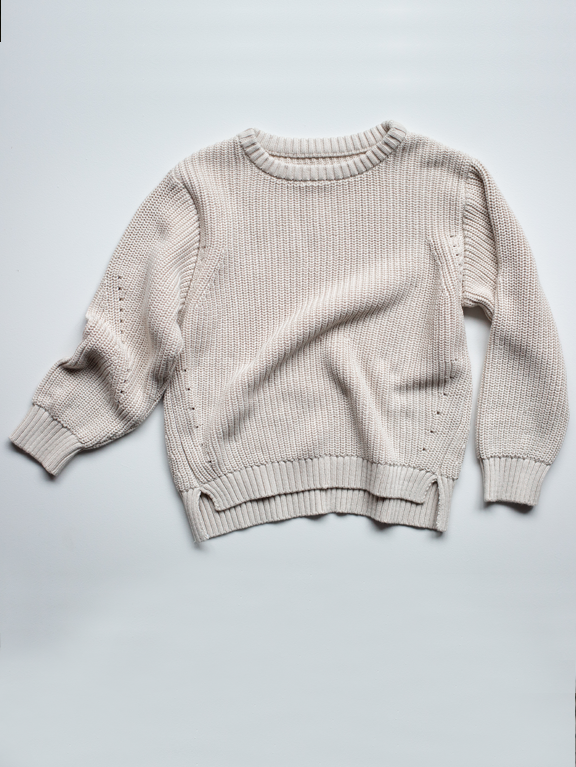 The Essential Sweater | Oatmeal