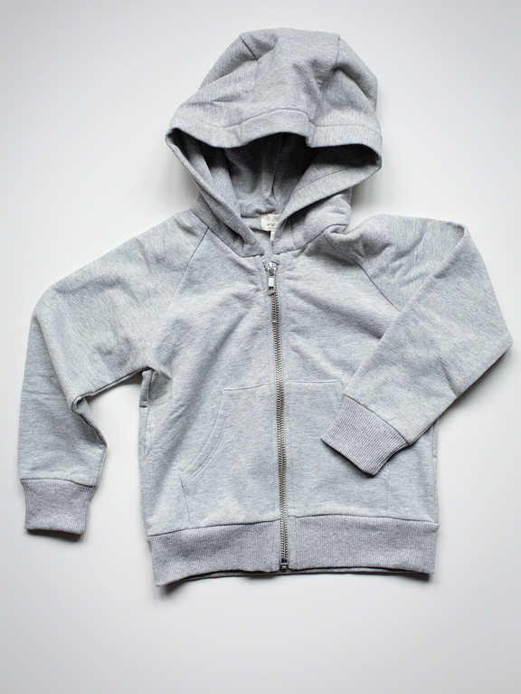 The Essential Hoodie | Grey Melange