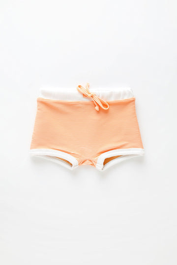 Mini Band Shorts | Grapefruit