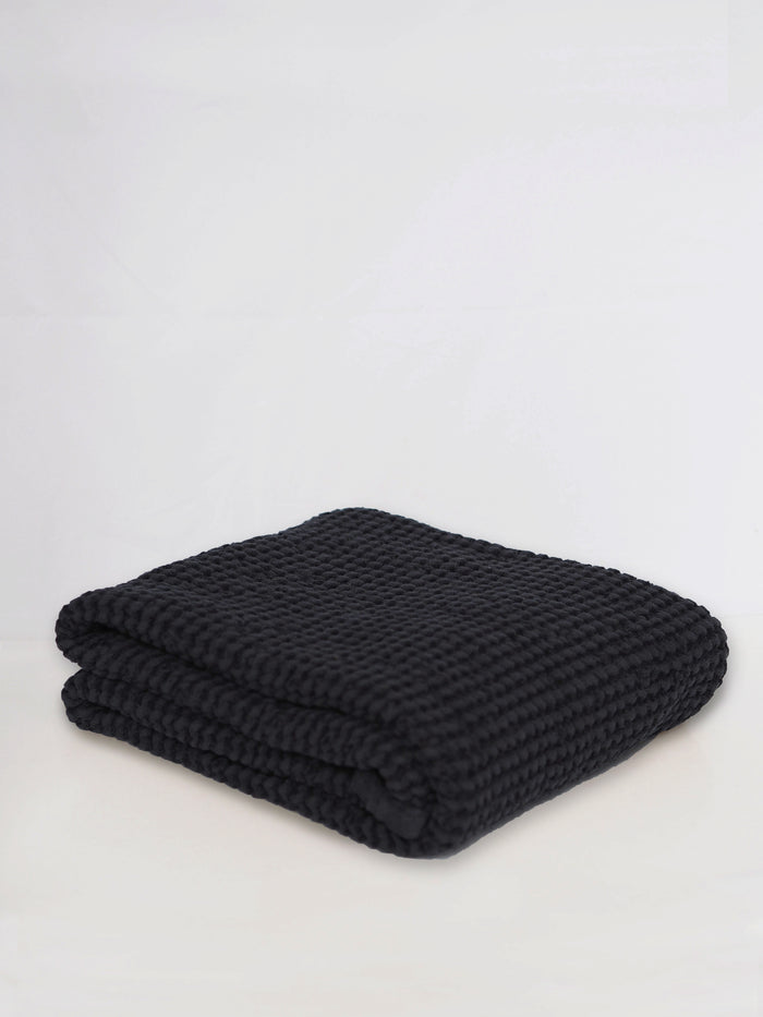 Waffle Blanket | Graphite