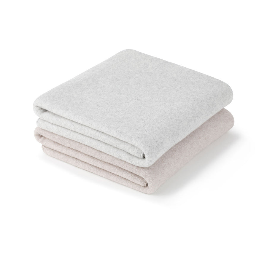Organic Cotton Soft Blanket | Light Taupe