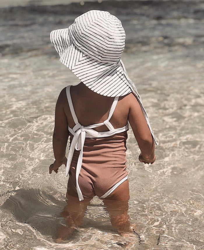 Floppy Hat | Cubs Stripe