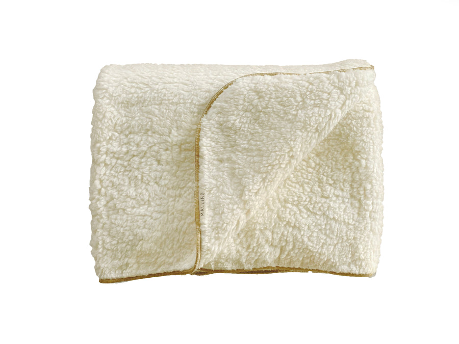 Sherpa Blanket | Natural