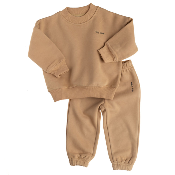 Woodie Logo Tracksuit | Fawn