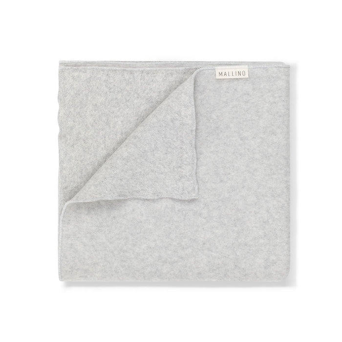 Organic Cotton Soft Blanket | Light Grey